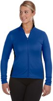 Champion Ladies' 5.4 oz. Performance Colorblock Full-Zip Jacket - ATH ROYAL/BLACK - S