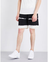 Stussy Striped Cotton Shorts