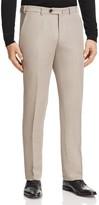 Armani Collezioni Linen Blend Regular Fit Trousers
