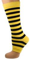 Mysocks® Toeless Socks Stripe Yellow and Black