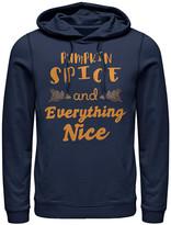 Fifth Sun Sweatshirts and Hoodies NAVY - Navy 'Pumpkin Spice' Kangaroo-Pocket Hoodie - Adult