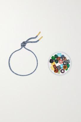 Carolina Bucci Forte Beads 18-karat Gold And Lurex Multi-stone Bracelet Kit - one size
