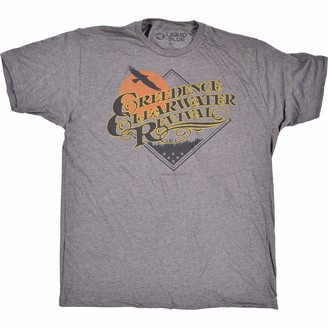 Liquid Blue Creedence Clearwater Revival Bayou Country T-Shirt