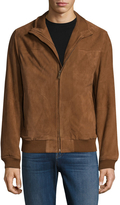 Brooks Brothers Men's Suede Bomber Jacket