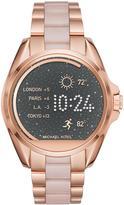 Michael Kors Bradshaw Rose-Golden Display Smartwatch