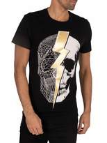 Religion Men's Lightning Skull TEE T-Shirt