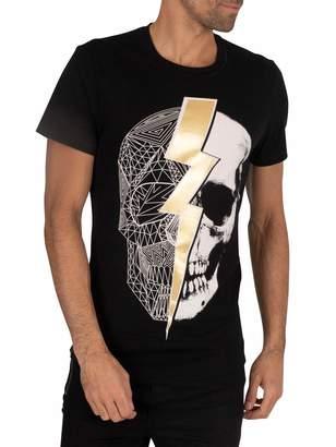 Religion Men's Lightning Skull TEE T-Shirt