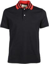 Gucci Web Collar Polo Shirt