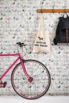 Ella Doran Wallpapers Bikes of Hackney