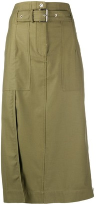 3.1 Phillip Lim High-Waist Pencil Midi Skirt