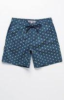 """Mr.Swim Mr Swim Dale Geo Star 17"""" Swim Trunks"""