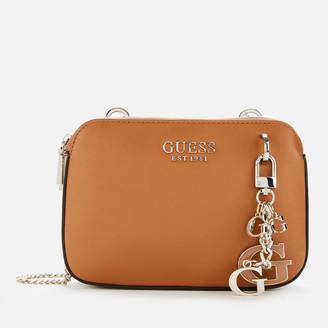 GUESS Women's Sherol Convertible Cross Body Bag
