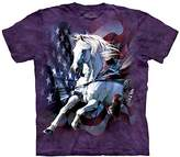The Mountain Patriotic Breakthrough Horse Adult T-Shirt