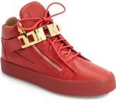 Giuseppe Zanotti Chain Link Side Zip Sneaker (Men)