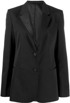 Helmut Lang Single-Breasted Fitted Blazer