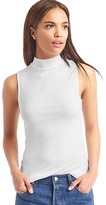 Gap Ribbed mockneck tank