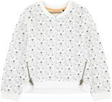 Ikks Printed fleece sweatshirt
