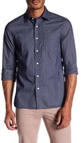 Jack Spade Grant Check Micropoint Dobby Trim Fit Shirt