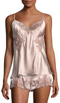 Josie Natori Lillian Lace-Applique Camisole