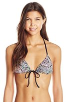 Bikini Lab Women's Braid Necessities Triangle Top