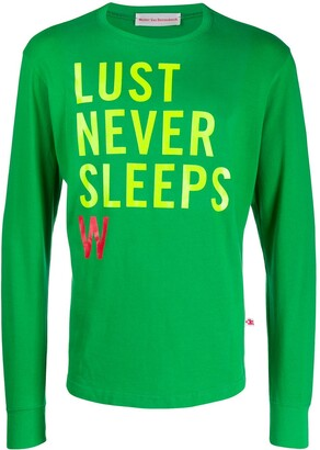 Walter Van Beirendonck Pre Owned 2012/13's Lust Never Sleeps longsleeved T-shirt