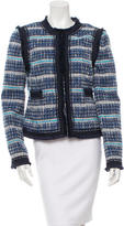Tory Burch Tweed Fringe Jacket