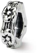 Reflections Sterling Silver Floral Spacer Bead (4mm Diameter Hole)