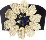 DELPOZO flower bralette - women - Silk/Cotton - 34