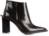 Marques Almeida MARQUES'ALMEIDA M and A letter-heel leather ankle boots