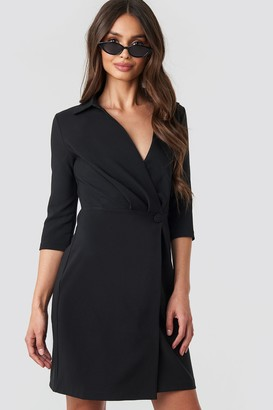 Milla Trendyol Button Detailed Dress Brown
