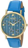 XOXO Women's XO3462 Analog Display Analog Quartz Watch