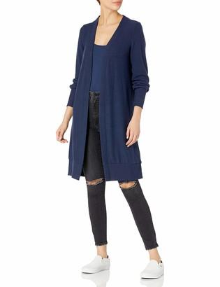 Lucky Brand Women's Long Sleeve Open Front Jersey Cardigan Sweater