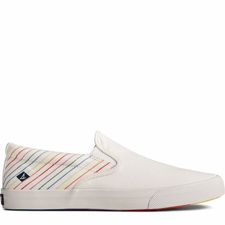 Sperry mens Striper Ii Slip on Pride Sneaker