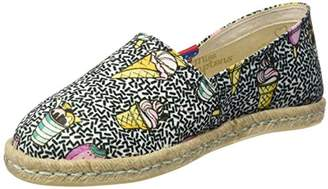MISS HAMPTONS Women's ICE Cream Espadrilles,7