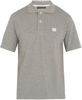 Acne Studios Newark Face cotton-piqué polo shirt