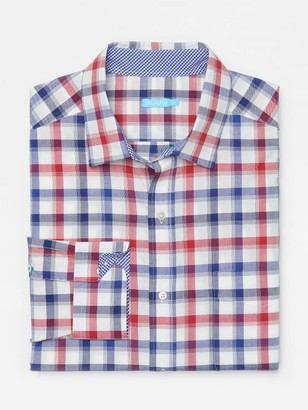 J.Mclaughlin Gramercy Classic Fit Shirt in Plaid