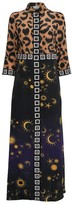 SuperStar Hayley Menzies Silk Ikat Shirt Dress