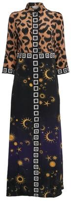 Hayley Menzies Silk Ikat Superstar Shirt Dress