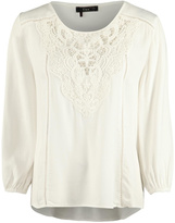 Dex Crochet Bib Blouse