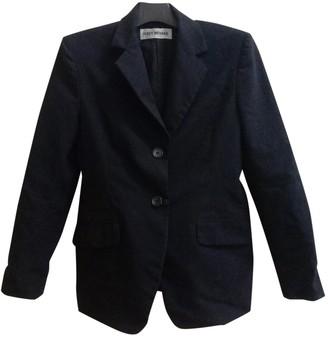 Issey Miyake Black Cotton Jacket for Women