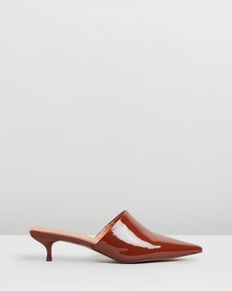 Mae Trink Leather Mules