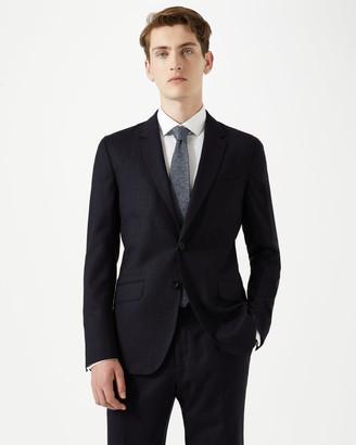 Jigsaw Italian Flannel Slim Fit Suit Jacket