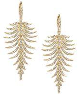 Adriana Orsini Barbara Pave Crystal Drop Earrings