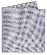 Armani Collezioni Printed Silk Pocket Square