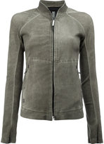 Isaac Sellam Experience - high neck zipped jacket - women - Lamb Skin - 36