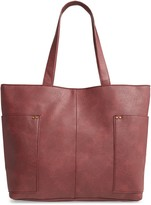 BP Studded Faux Leather Tote