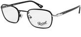 Persol Matte Black Eyeglass Frames