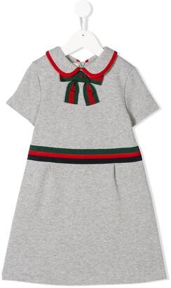 Gucci Kids Web trim dress