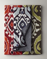 """Horchow """"Eco"""" Ikat Throw"""