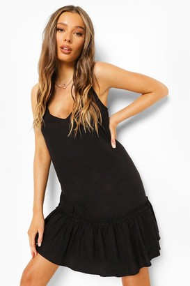 boohoo Cami Tiered Shift Dress